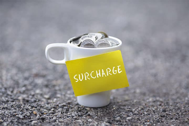 What is Surcharging
